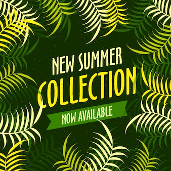 New summer collection poster