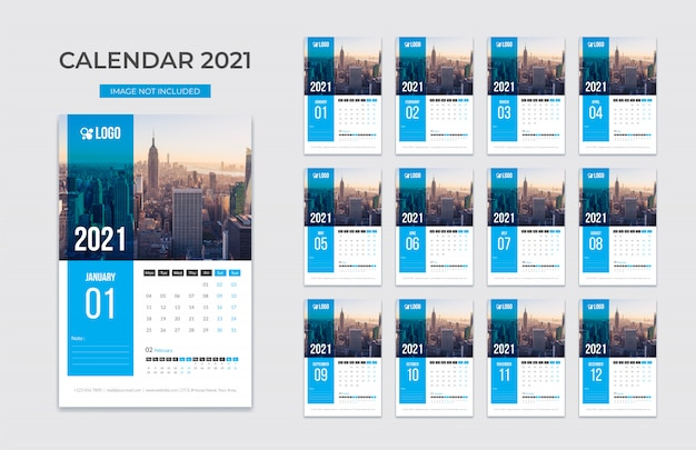 Nuovo calendario da parete