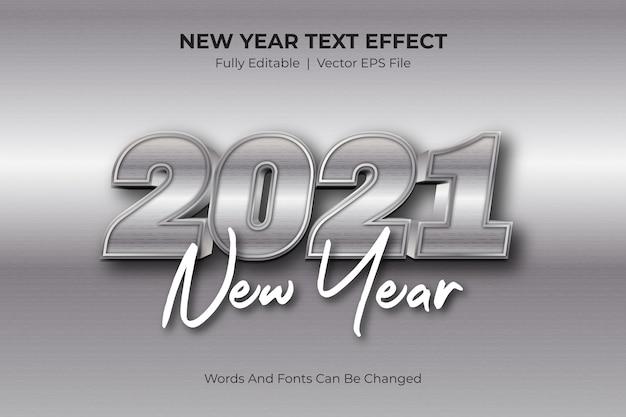 Testo modificabile del nuovo anno 2021