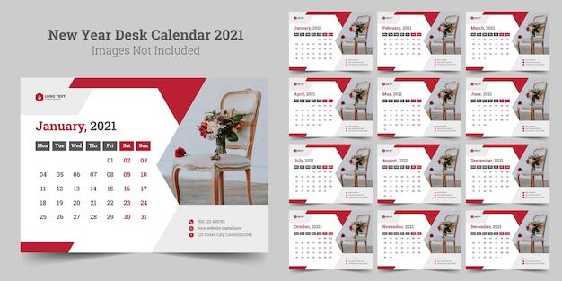Calendario da tavolo del nuovo anno