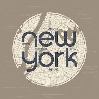 Maglietta e abbigliamento di new york
