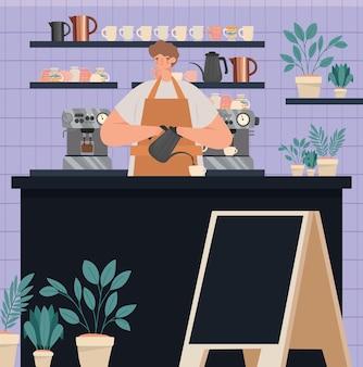 Bel negozio di caffè?