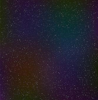 Cielo notturno stellato, polvere cosmica.