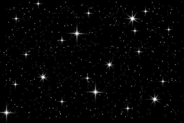 Cielo di stelle notturne