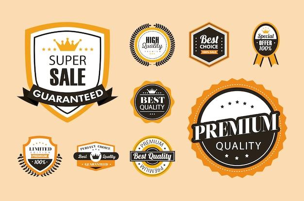 Nove guarnizioni della migliore qualità quality