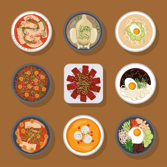 Nove icone del cibo coreano