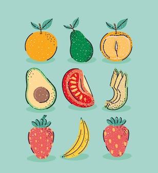 Nove bei frutti