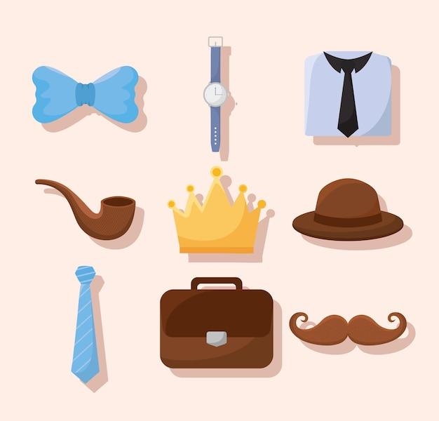 Nove icone genitore