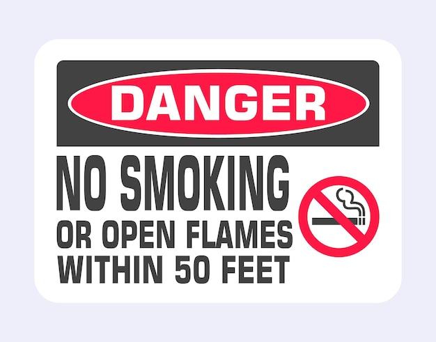 Segno di divieto di fumo icona del segno di divieto isolato su sfondo grigio chiaro illustrazione vettoriale