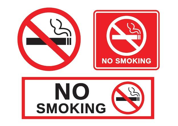 Segno di divieto di fumo
