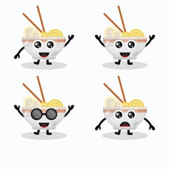 Carattere del logo di noodles