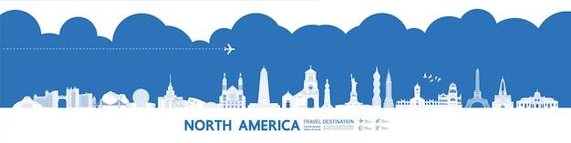 Destinazione di viaggio del nord america grand