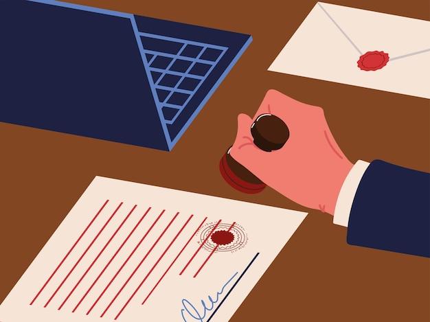 Contratto di servizi notarili