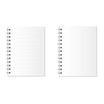 Notebook o libro di carta. affari ed educazione