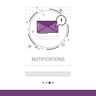 Email della busta di notifica