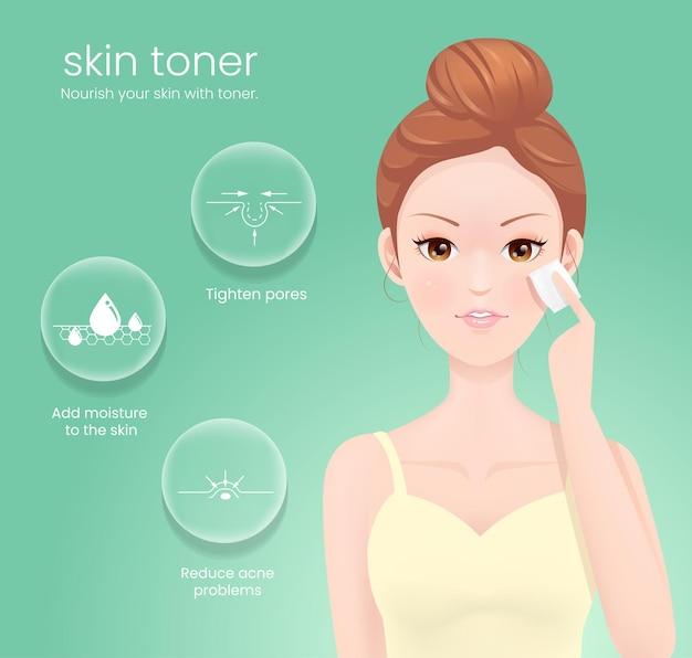 Nutri la tua pelle con il toner