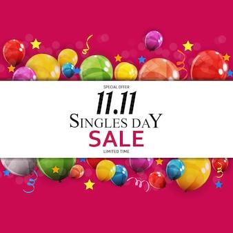Vendita per single dell'11 novembre.
