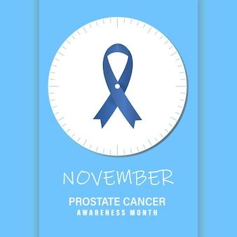 Novembre - mese di sensibilizzazione sul cancro alla prostata.