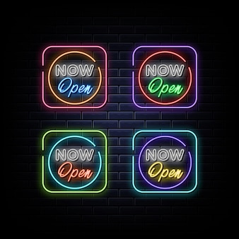 Ora apri il simbolo al neon dell'insegna al neon