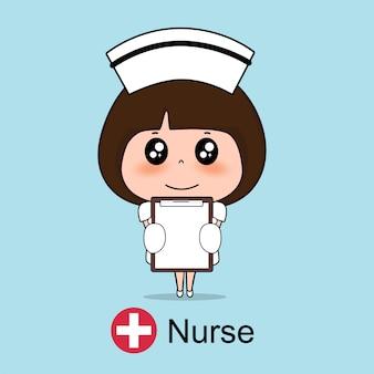 Personaggio dei cartoni animati dell'infermiera