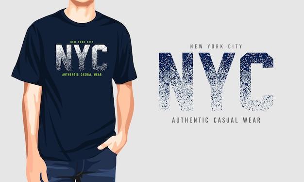 New york: autentico abbigliamento casual
