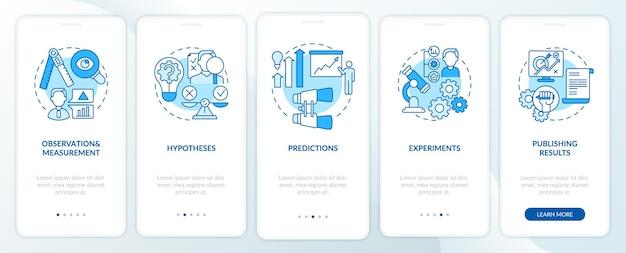 Osservazione e misurazione della schermata della pagina dell'app per dispositivi mobili con concetti