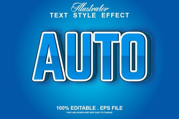 Osserva l'effetto di testo modificabile