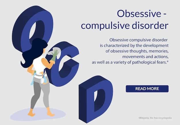 Disturbo ossessivo di salute mentale compulsivo, disturbo ossessivo compulsivo