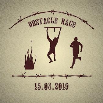 Logo della corsa ad ostacoli