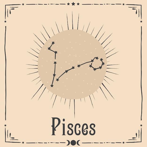Segno zodiacale di astrologia occulta