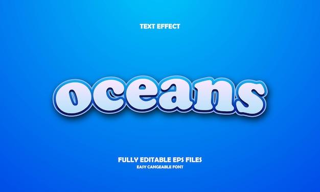Effetto testo oceani