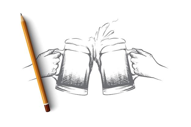 Illustrazione di concetto di festa di ottobre