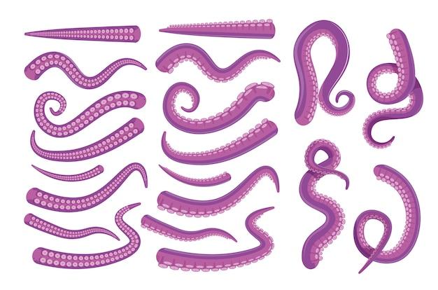 Icona di tentacolo di polpo.
