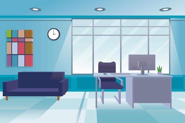 Concetto di sfondo dell'ufficio