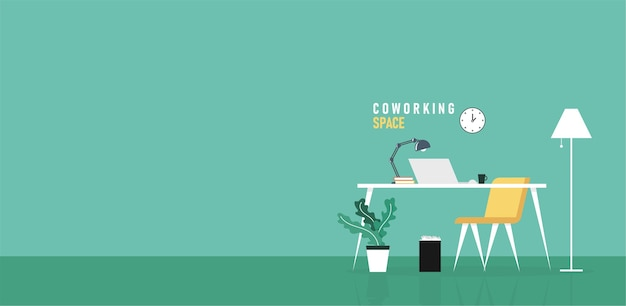 La gente di affari dell'ufficio che apprende e insegna lavora usando l'illustrazione