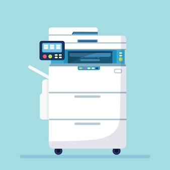 Illustrazione della macchina per ufficio