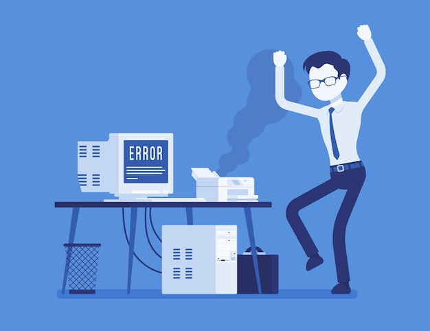 Errore della stampante di office