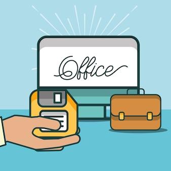 Forniture per ufficio e persone