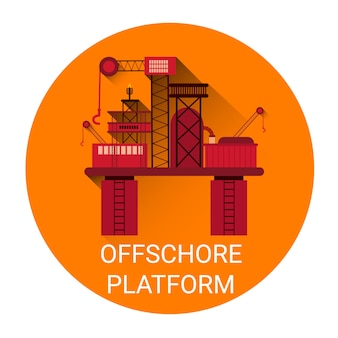 Icona piattaforma offshore
