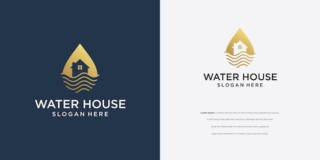 Il logo oil air usa il simbolo della casa.
