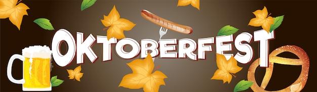 Intestazione dell'oktoberfest