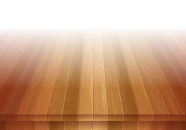 Vecchio pavimento in legno marrone. sfondo del palco.
