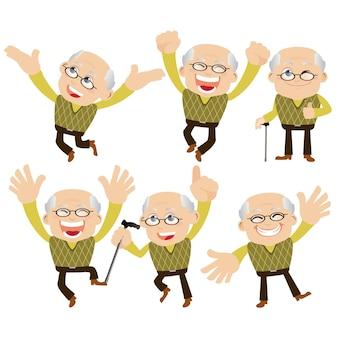 Set di anziani