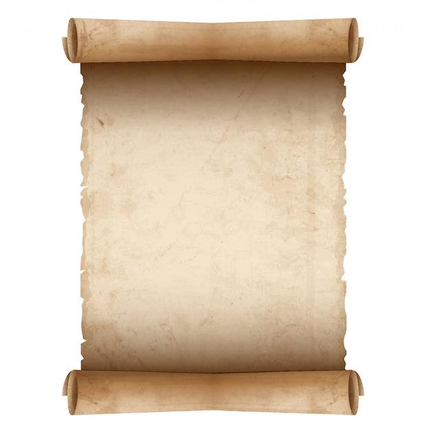 Vecchia carta pergamena