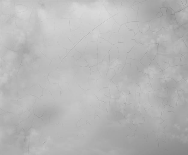 Vecchia superficie di cemento o cemento grigio bianco incrinato