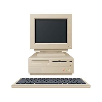 Vecchia illustrazione del computer vintage