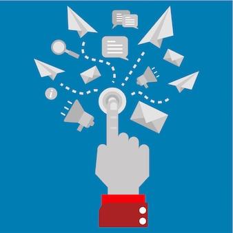 Marketing digitale con un clic