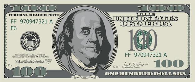 Cento dollari.