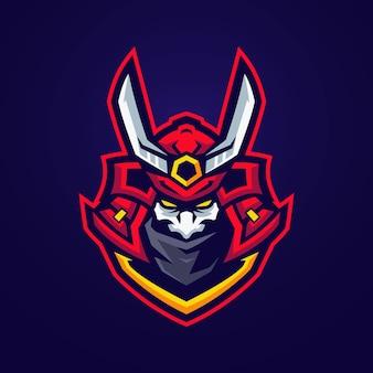 Logo oni samurai