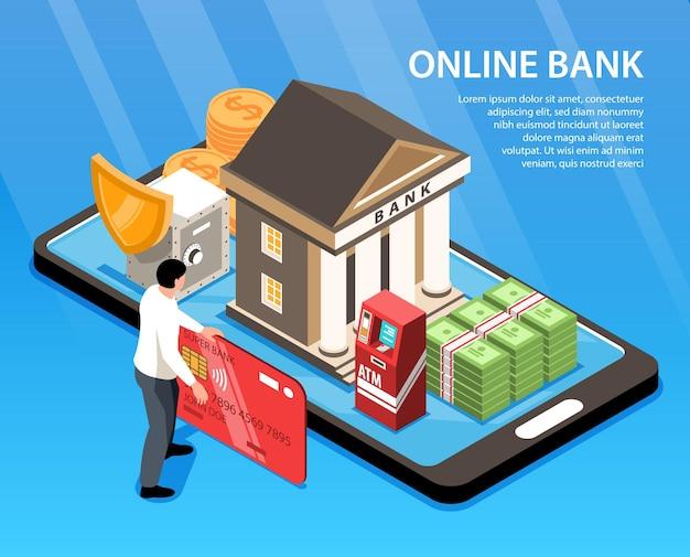 Banner di banca online